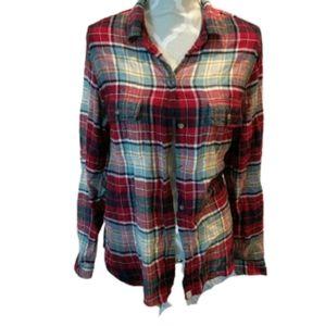 American Eagle super duper soft plaid shirt